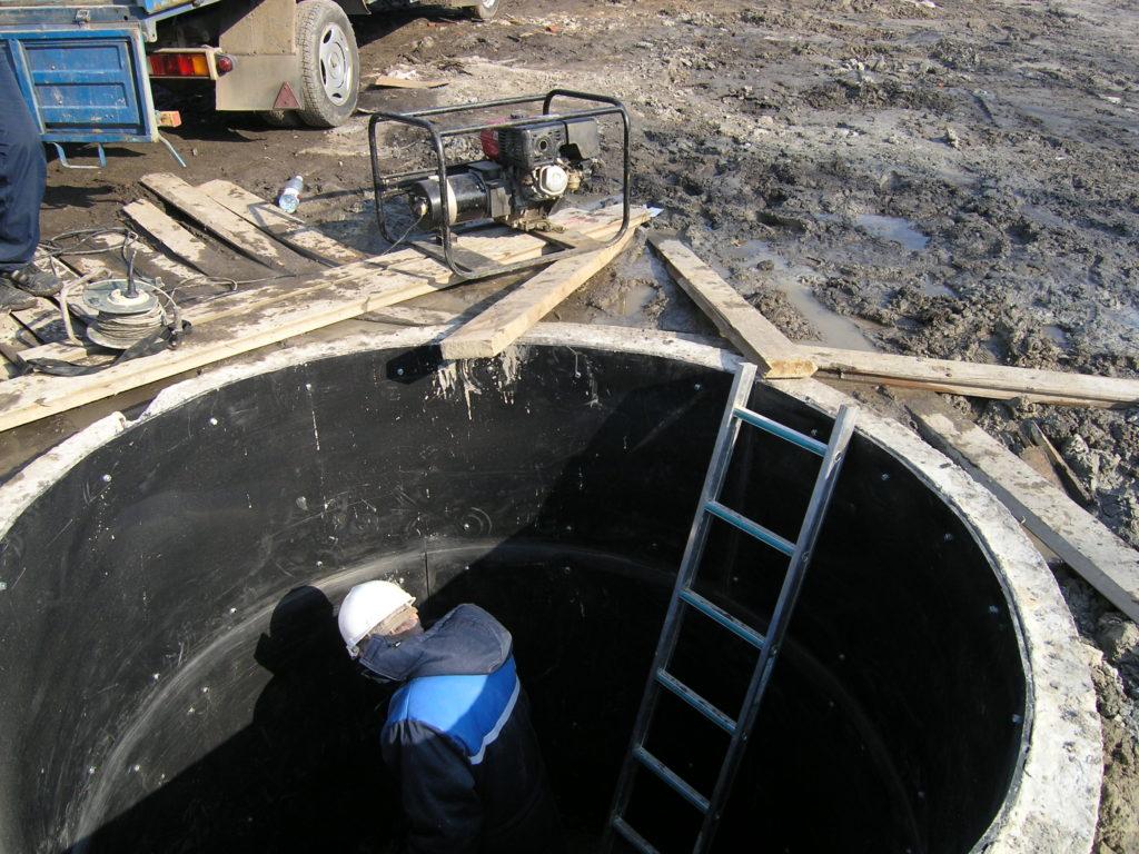 Изготовление емкостей и резервуаров по месту