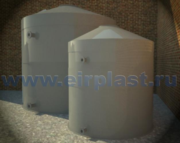 Пожарные резервуары из пластика