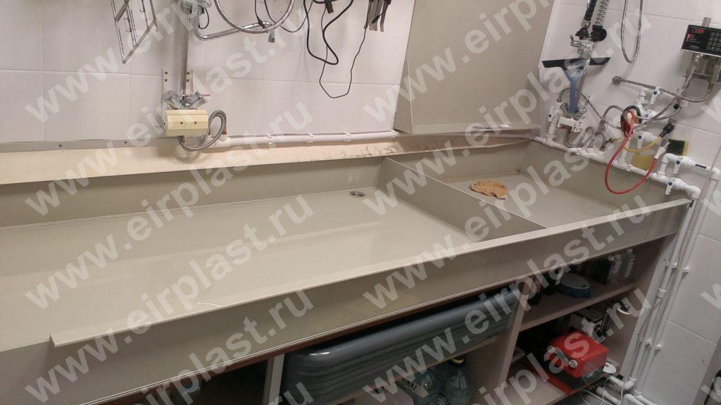 Лабораторный мокрый стол для проявки фотографий