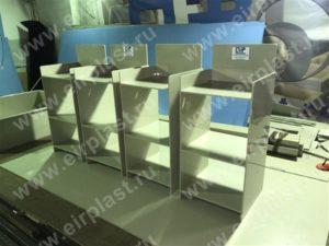 лабораторная мебель из пластика, мебель для гальваники, мебель для лабораторий, лабораторные тумбы из пластика