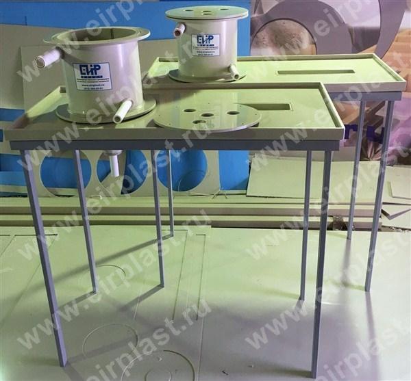 Лабораторные столы из полипропилена