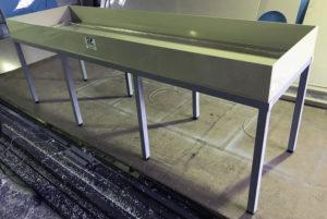 eirplast лабораторный стол из полипропилена, пластиковый лабораторный стол еир пласт